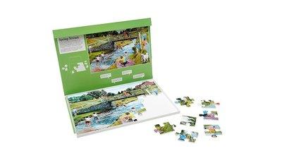 Puzzel - Lente rivier - 35 grote puzzelstukken- Jigsaw Puzzles