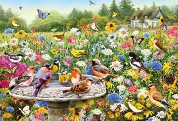 Puzzel - 100 extra grote puzzelstukken - Geheime tuin