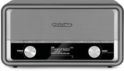Radio - Inclusief Radio Remember Jaarabonnement - Technisat DigitRadio 520 retro internetradio met DAB+