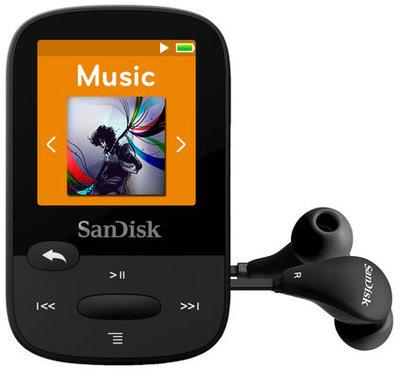 MP3 speler - Sandisk Sansa 16GB Zwart