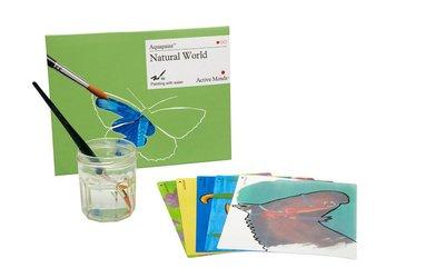 Aquapaint - Schilderen met water - Natuur