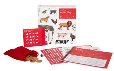 Animal bingo - Diergeluiden bingo