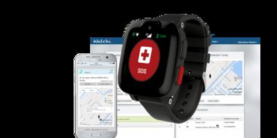 Watchi Care Telefoonhorloge Professional met GPS - Voor zorgorganisaties