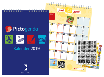 Pictogenda kalender 2019