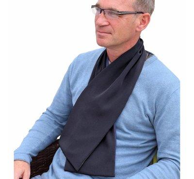 Bibetta Heren Sjaal Slab - Zwart