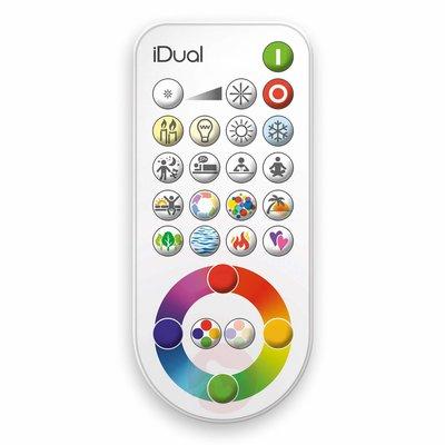 Sfeer lamp - iDUAL - met diverse kleuren en afstandsbediening