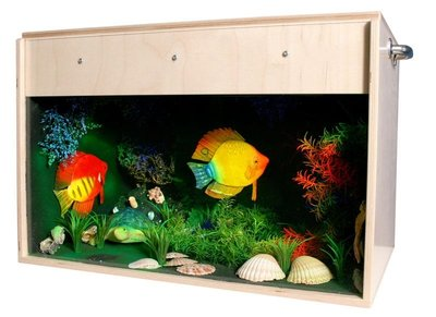 Aquarium met Blacklight (70x40x40 cm)