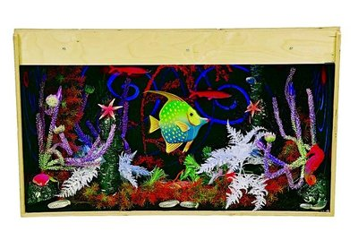 Aquarium met Blacklight (100x40x65 cm)