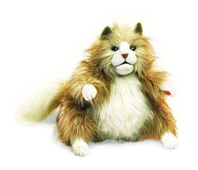 Pop - Handpop Fluffy kat, 30 cm