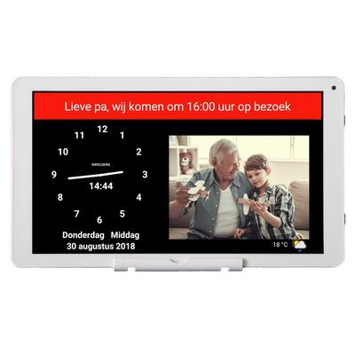 'DayClock 10-Duo' - Kalenderklok - Contact en zorg op afstand