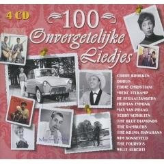 CD - 100 Onvergetelijke liedjes - 4CD