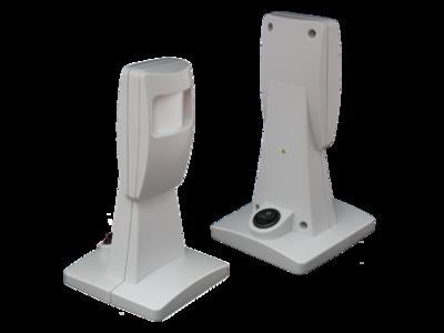 Valpreventie bewegingssensor - Optiscan draadloos op steun - met AAN/UIT schakelaar - DAZA