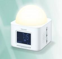 Daglichtwekker met 4 verschillende natuurgeluiden WL30