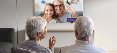 Femly beeldbellen via televisie