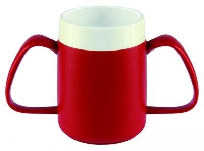 Conische ergobeker - Rood
