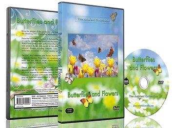 DVD Vlinders en bloemen