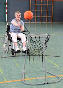 Basketbalkorf Vloer| Inclusief twee ballen