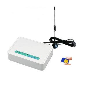GSM interface met sim-kaart voor analoge telefoons