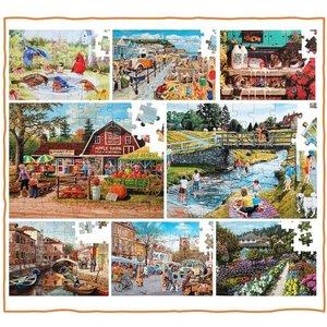 Puzzel Combinatiepakket - 8 populaire puzzels