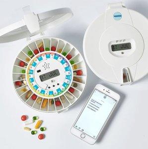 Medicijnendoos- Automatische afgifte & SMS alarm op afstand