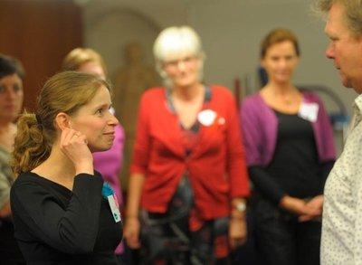 Workshop omgaan met mensen met dementie - Training van Theater Veder