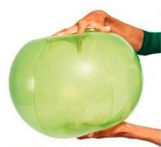 Vingerlichte ballen 35 cm