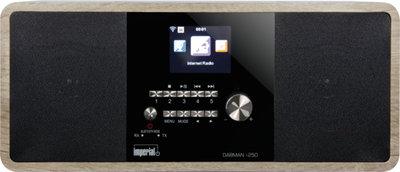 Radio - Inclusief Radio Remember Jaarabonnement - Imperial DABMAN i250 stereo hybride internetradio met DAB+ en FM en Bluetooth, vintage