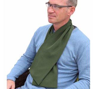 Bibetta Heren Sjaal Slab - Khaki