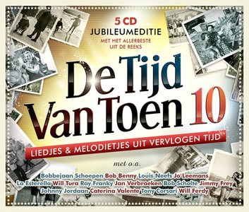 CD - De Tijd van toen | 5 CD-box (Jubileumeditie)