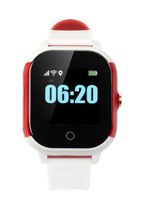 Wuzzi Watch Indi - Rood Wit